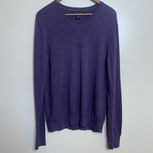 3/$20 Banana Republic Merino Wool V-Neck Sweater